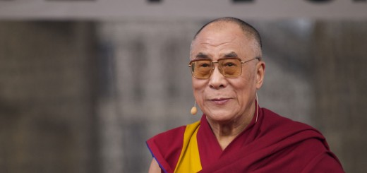 Dalai Lama - photo by Jan Michael Ihl
