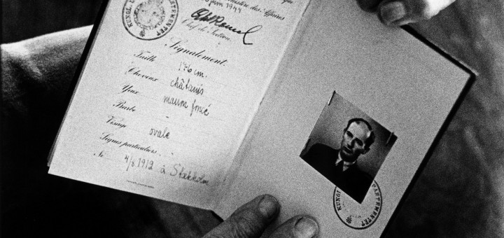 Raoul Wallenberg's passport