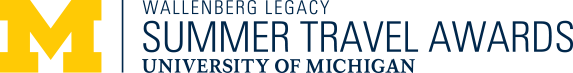 Wallenberg Legacy, Summer Travel Awards, University of Michigan