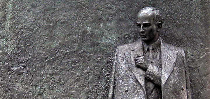 Raoul Wallenberg statue, Great Cumberland Place, London