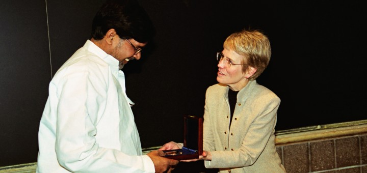 Kailash Satyarthi and President Coleman